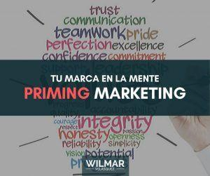 Priming en Marketing ¿Quieres que tu marca sea la favorita?